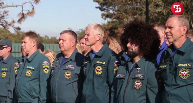 В горах, в воде, на суше: в Ласпи соревнуются спасатели России