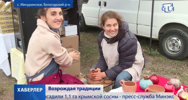 Ярмарку «Къарасувбазар» впервые провели в селе Мичуринское Белогорского района