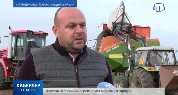 В Крыму стартовал сев озимых культур
