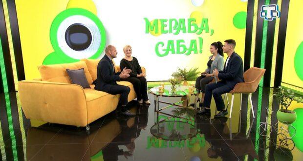 Гости «Мераба, Саба!»: Владимир Николенко, Эльмира Налбантова 13.10.21