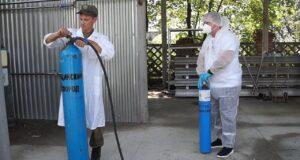 Более 20 тонн кислорода поставят в больницы регионов Южного военного округа