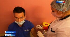 Ажиотажный спрос на вакцинацию фиксируют в Крыму