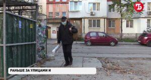 На улице Белы Куна в Симферополе годами не убирают мусор