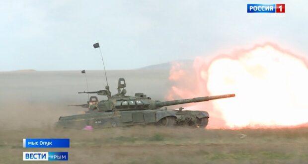 Нестандартные манёвры провели десантники в Крыму